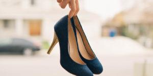 High-heels in Hand